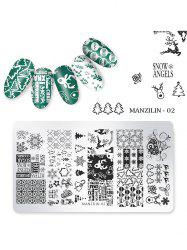Nail Beauty DIY Stainless Steel Manicure Decoration Stamping Plates -