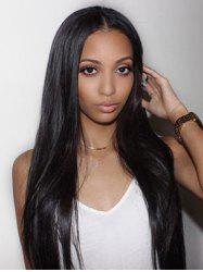 Center Parting Synthetic Long Straight Wig -