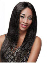 Long Straight Party Lace Front Synthetic Wig -