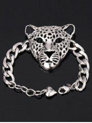 Leopard Head Chain Bracelet -