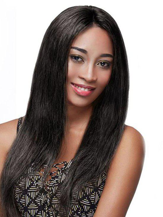 Trendy Long Straight Party Lace Front Synthetic Wig