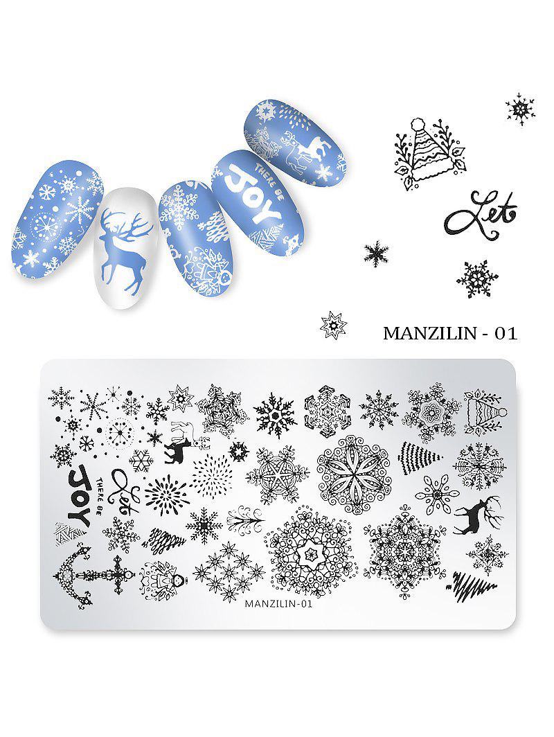 Shop Nail Beauty DIY Stainless Steel Manicure Decoration Stamping Plates