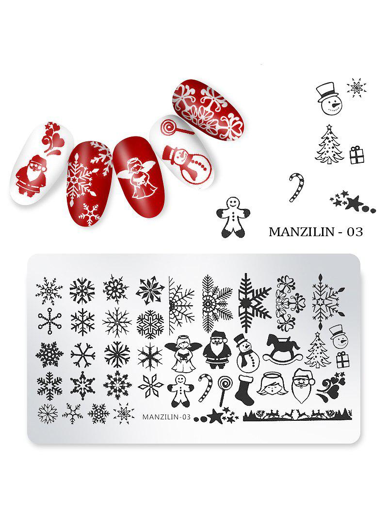 Sale Nail Beauty DIY Stainless Steel Manicure Decoration Stamping Plates