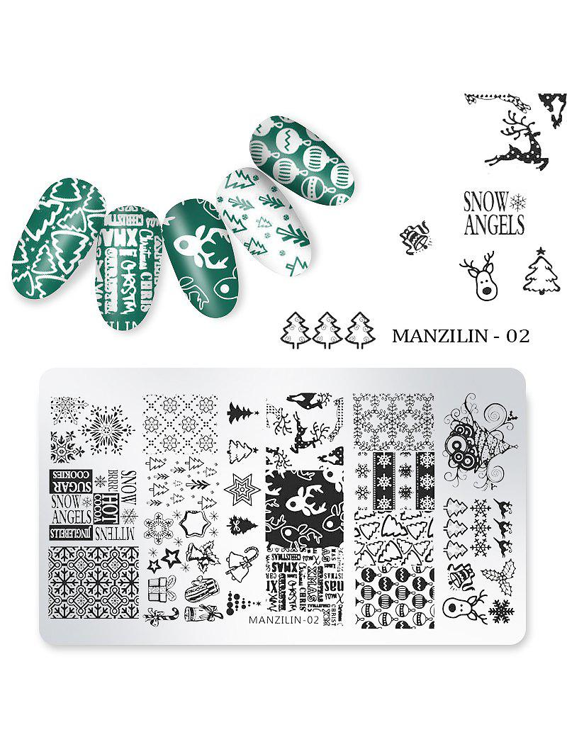 Best Nail Beauty DIY Stainless Steel Manicure Decoration Stamping Plates