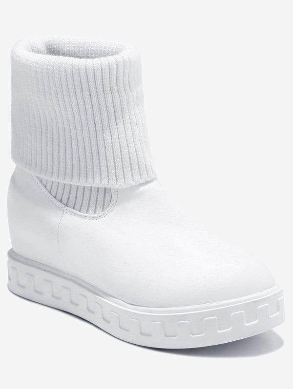 Best Plus Size Fold Over Short Sock Boots