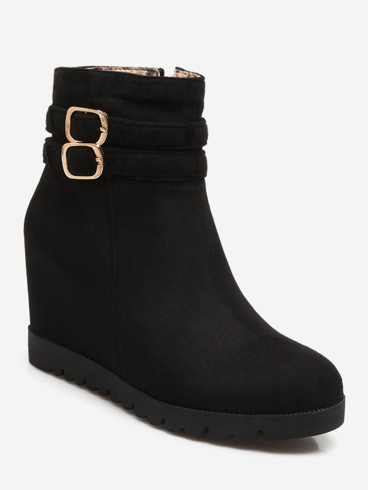 Unique Plus Size Increased Internal Ankle Boots