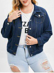 Plus Size Denim Jacket -
