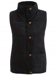 Corduroy Quilted Waistcoat -
