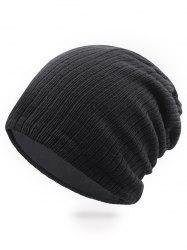 Solid Color Knitted Ski Cap -