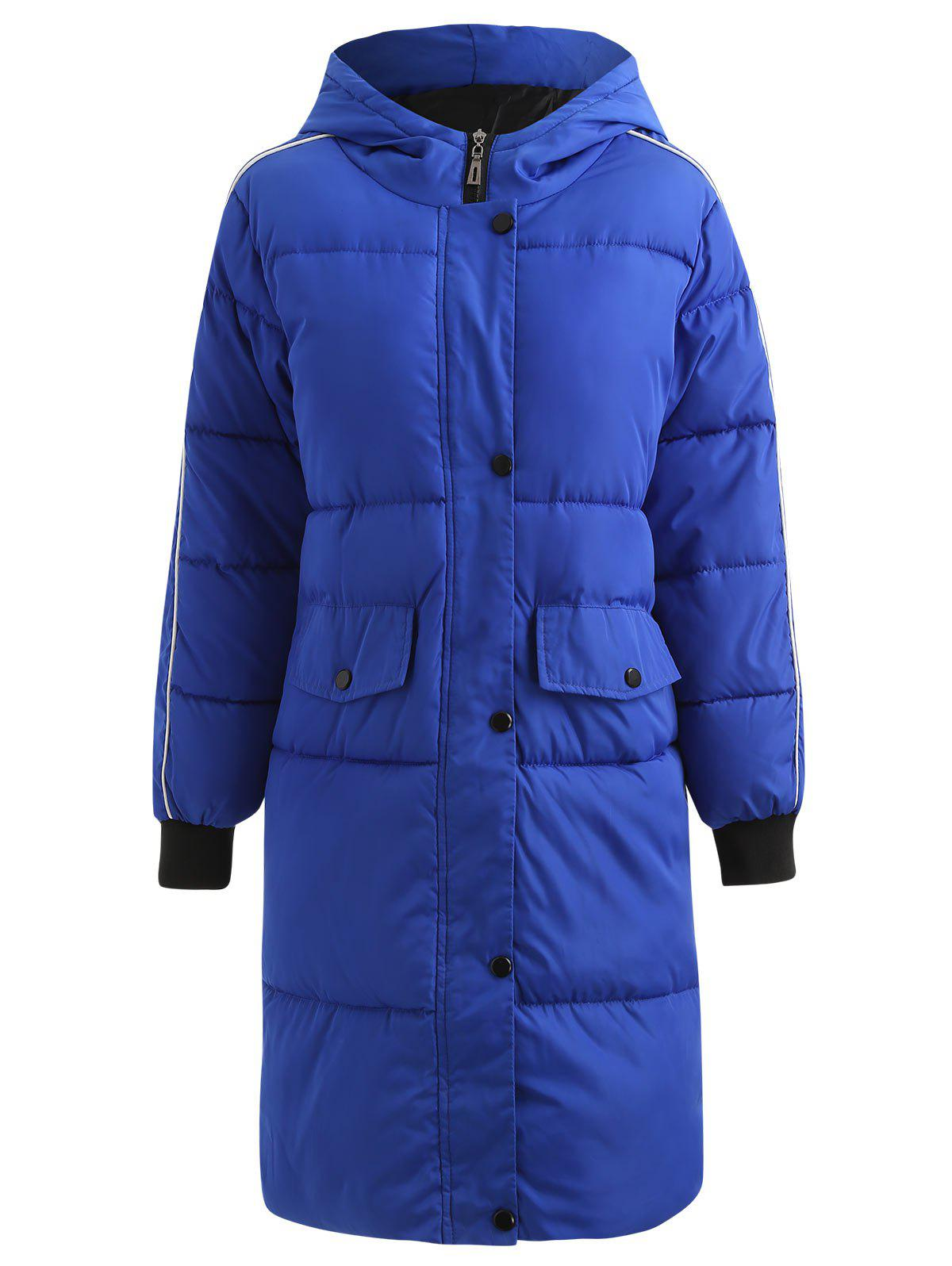 Hot Long Hooded Puffer Coat