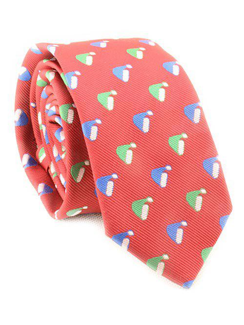 Shop Christmas Hat Printing Neck Tie