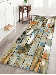 Paint Brick Wall Printed Decorative Floor Mat -