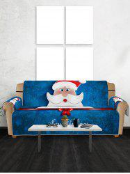 Christmas Santa Claus Pattern Couch Cover -