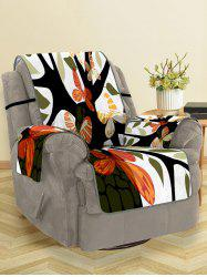 Butterfly Tree Pattern Couch Cover -