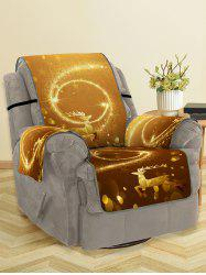 Christmas Elk Starlight Pattern Couch Cover -
