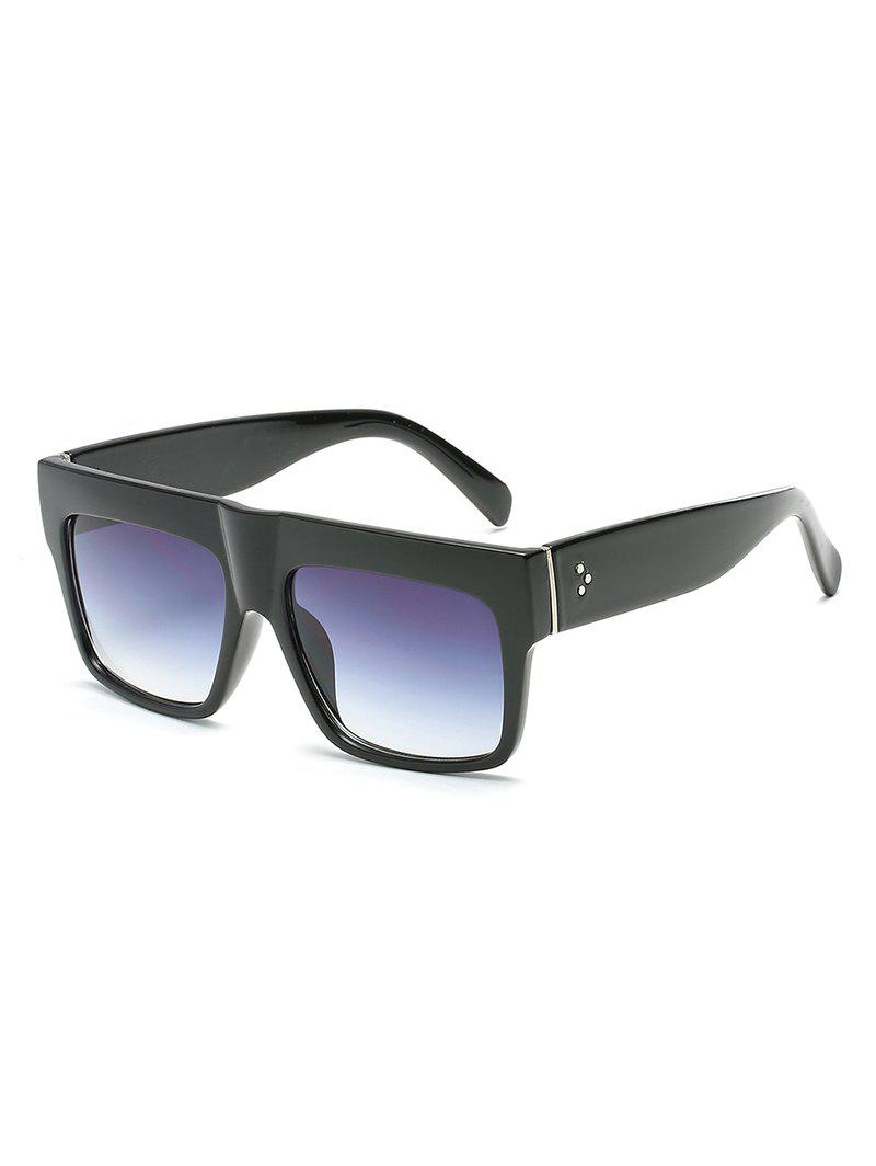 Anti Fatigue Flat Lens Squared Sunglasses