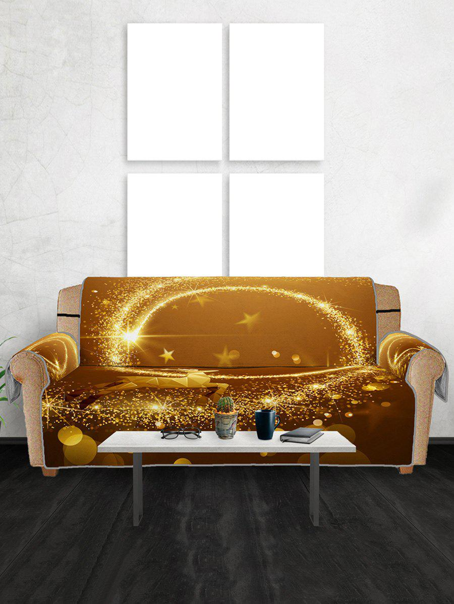 Discount Christmas Elk Starlight Pattern Couch Cover