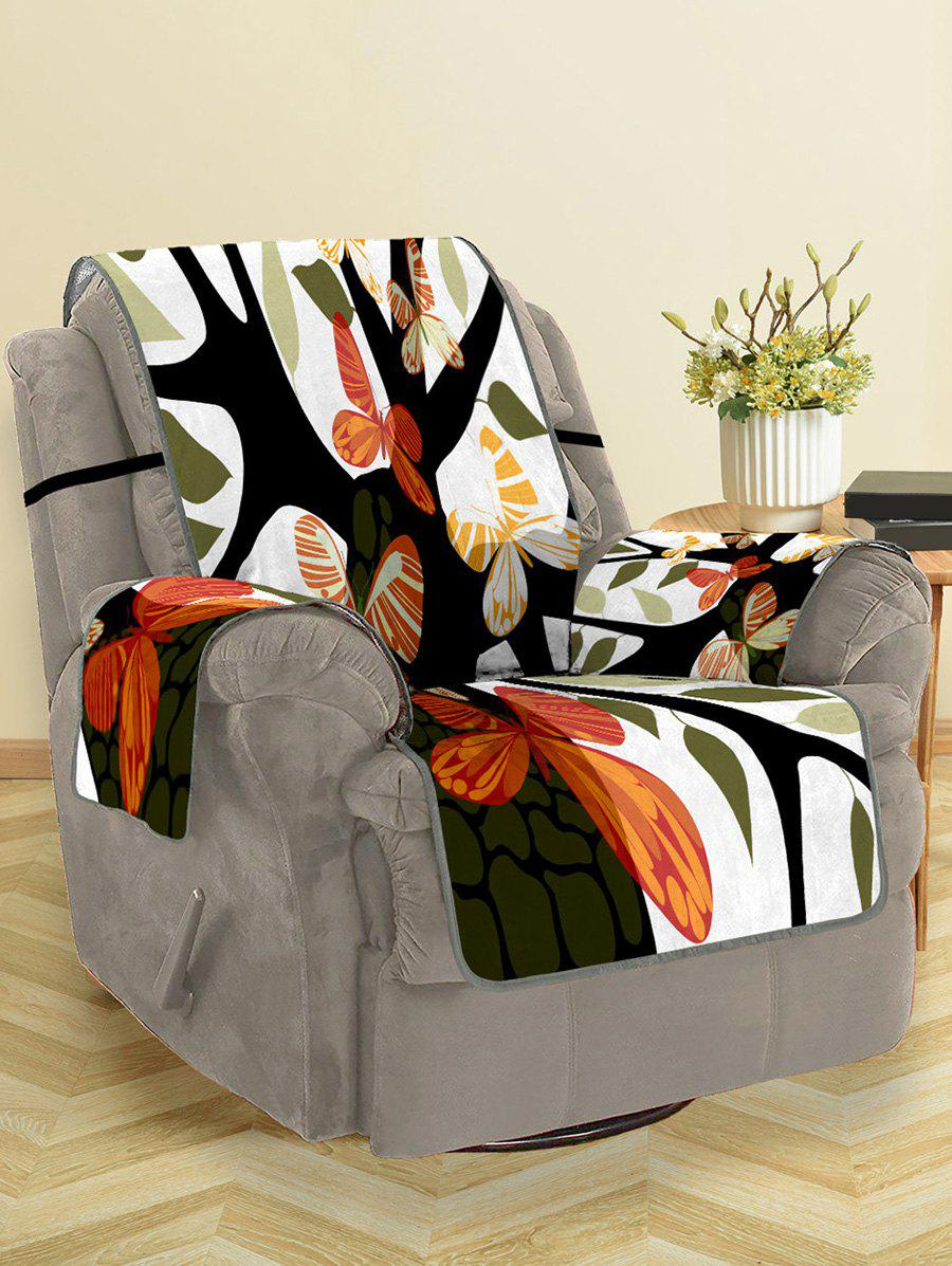 New Butterfly Tree Pattern Couch Cover