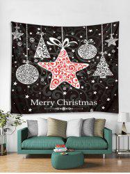 Christmas Hanging Star Print Tapestry Wall Hanging Art Decoration -