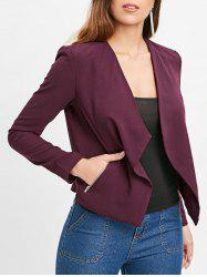 Double Pocket Drape Blazer -