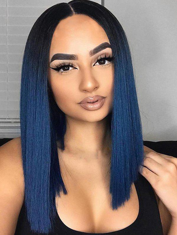 Outfit Medium Ombre Straight Party Synthetic Wig