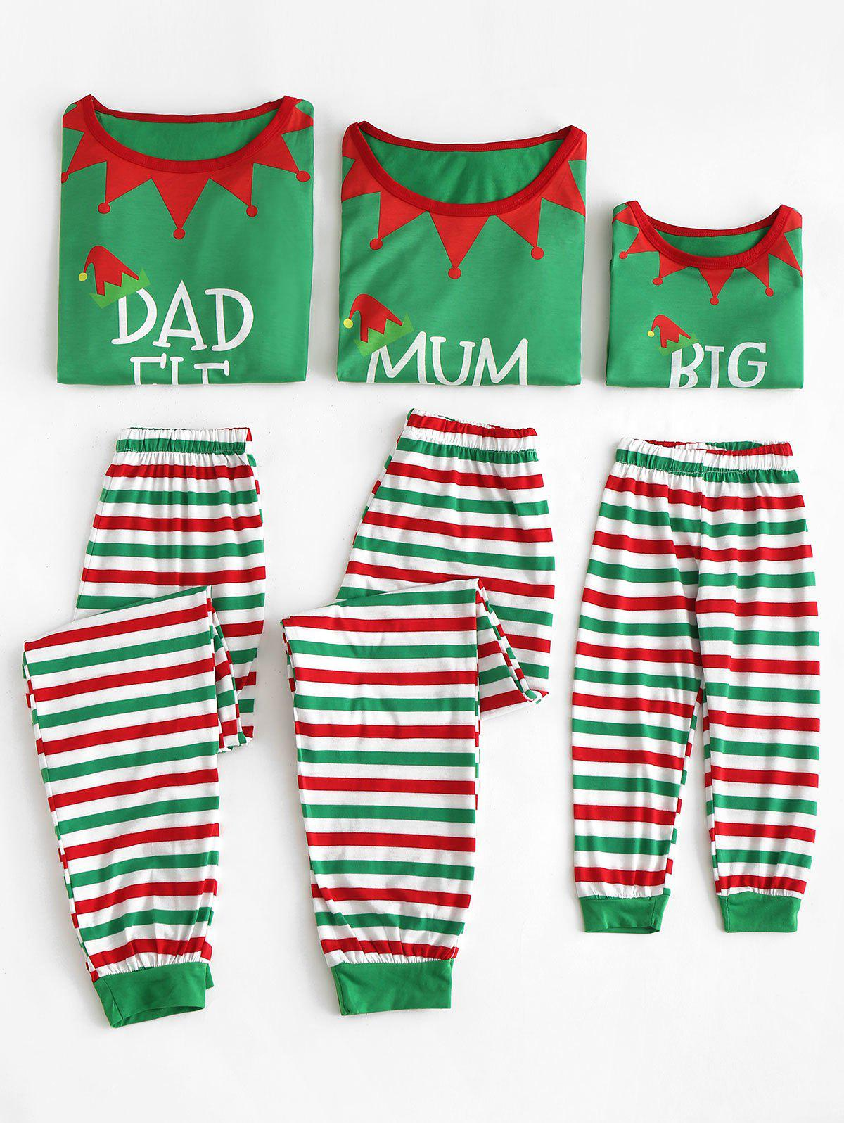 Shop Christmas Elf Matching Family Pajamas