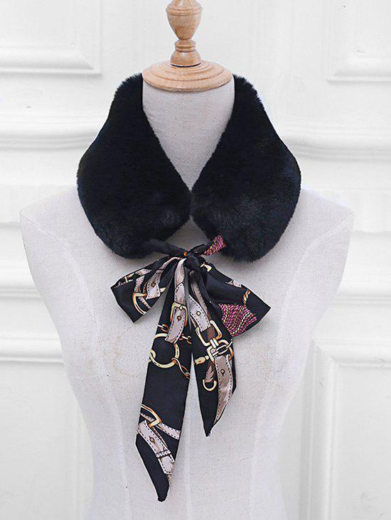 Unique Vintage Faux Fur False Collar Scarf