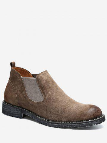 Low Heel Chelsea Short Boots