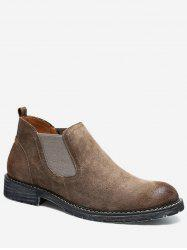 Low Heel Chelsea Short Boots -