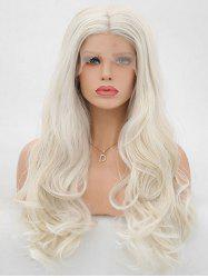 Lace Front Synthetic Long Wavy Party Cosplay Wig -