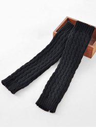 Winter Solid Color Knitted Leg Warmers -