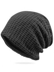 Solid Color Winter Baggy Beanie -