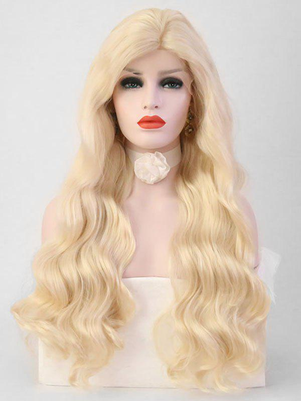 Shop Long Side Bang Body Wavy Party Cosplay Synthetic Lace Front Wig