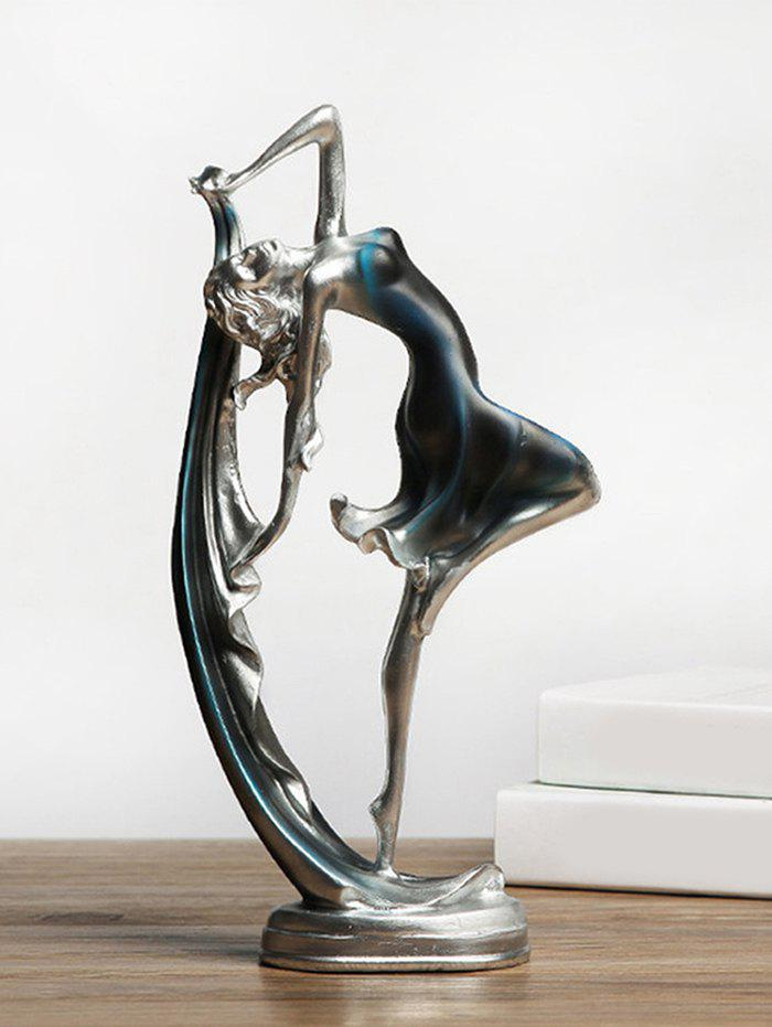 Cheap Desk Decoration Ballet Dancer Resin Sculpture