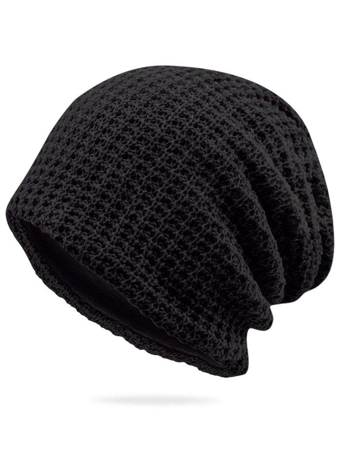 d0262b8ab8 42% OFF] Solid Color Winter Baggy Beanie | Rosegal