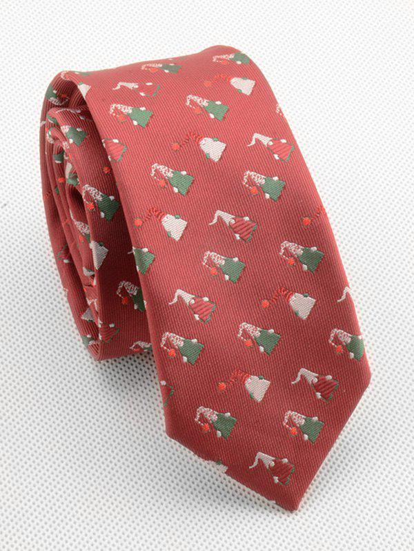 Hot Christmas Themed Printing Necktie