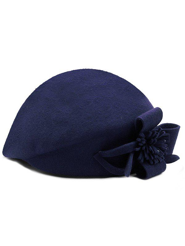 47% OFF   2018 Bowknot Airline Stewardess Hat In Deep Blue  b6a83be69e45