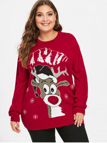 Women Christmas Sweater Dress.Plus Size Christmas Sweaters Women Ugly And Funny