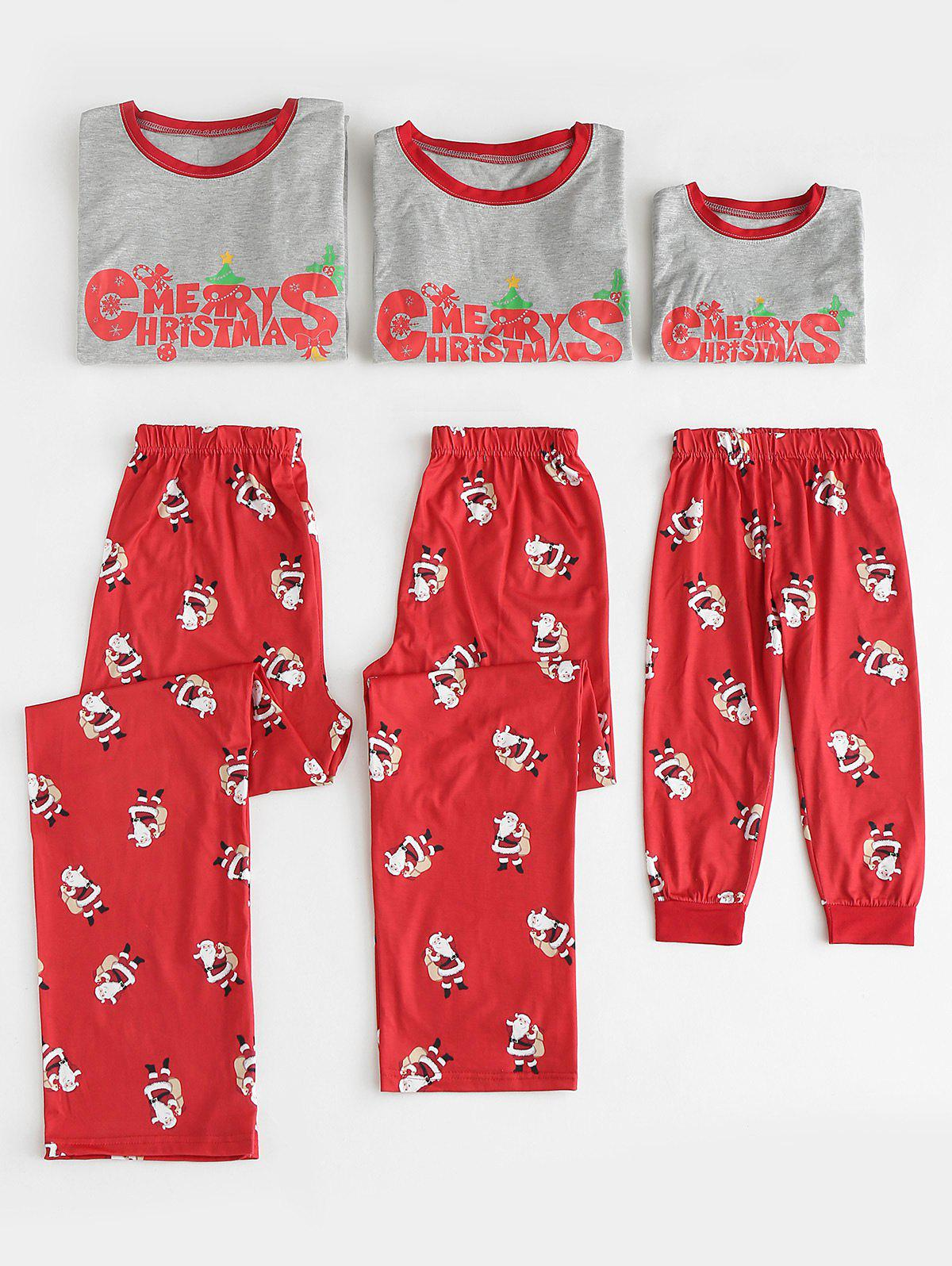 Fashion Christmas Matching Family Pajama Set