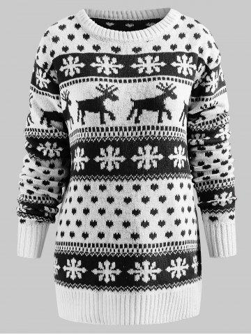66bb6802cfdf49 Snowflake Christmas Sweater - Free Shipping