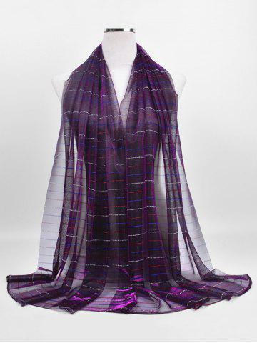 Elegant Colored Striped Shawl Scarf