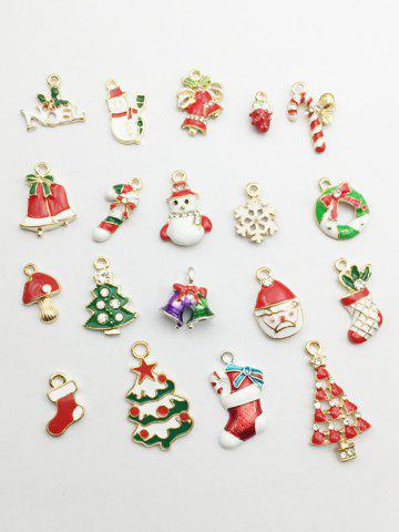be026c0dda 19 Rhinestone Alloy Christmas Decorations
