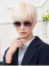 Короткая сторона Bang Straight Party Capless Synthetic Wig -