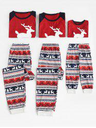 Christmas Patterned Matching Family Pajamas -