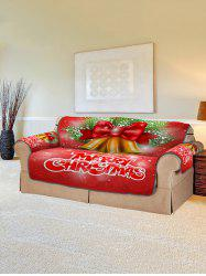 Christmas Bells Pattern Couch Cover -
