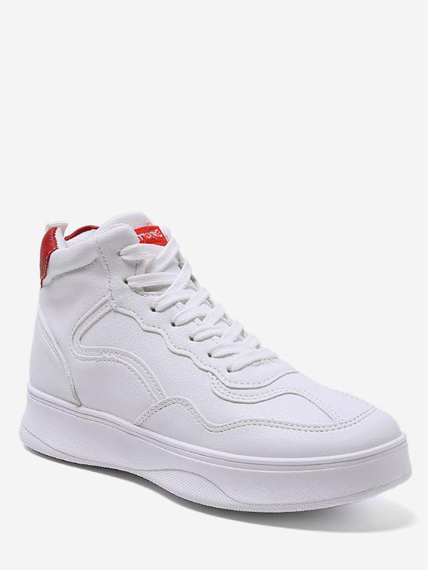 Fashion Contrast High Top Casual Sneakers