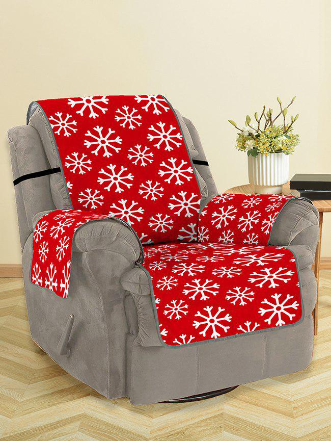 Chic Christmas Snowflake Pattern Couch Cover