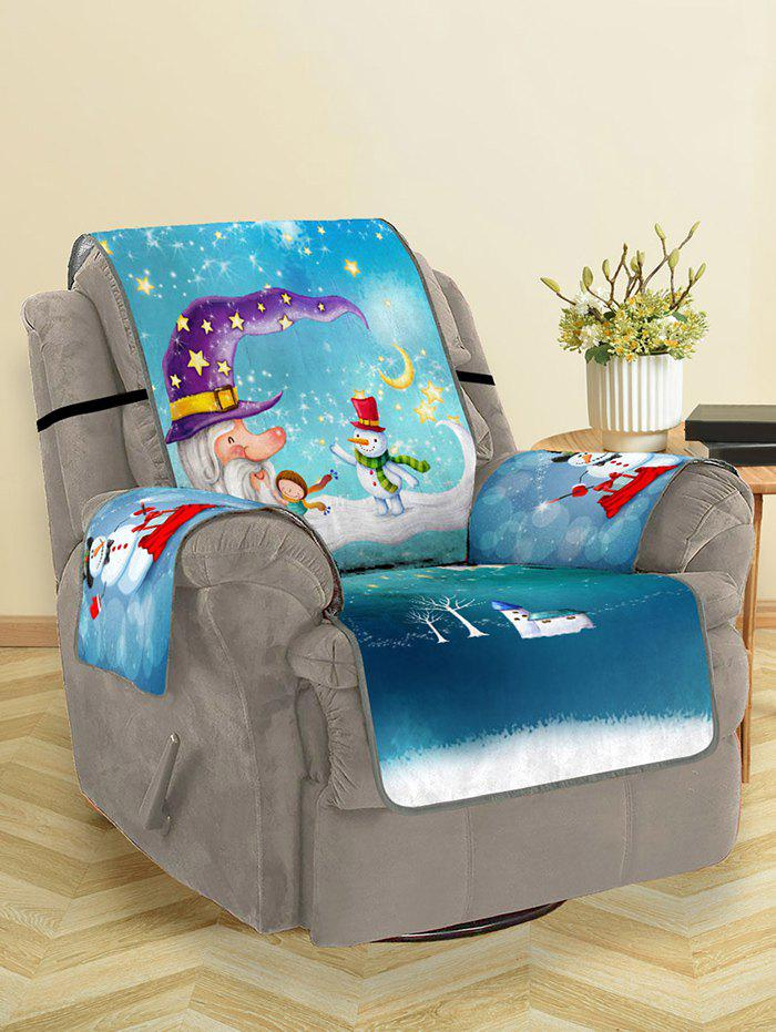 Shop Christmas Snowmen Pattern Couch Cover