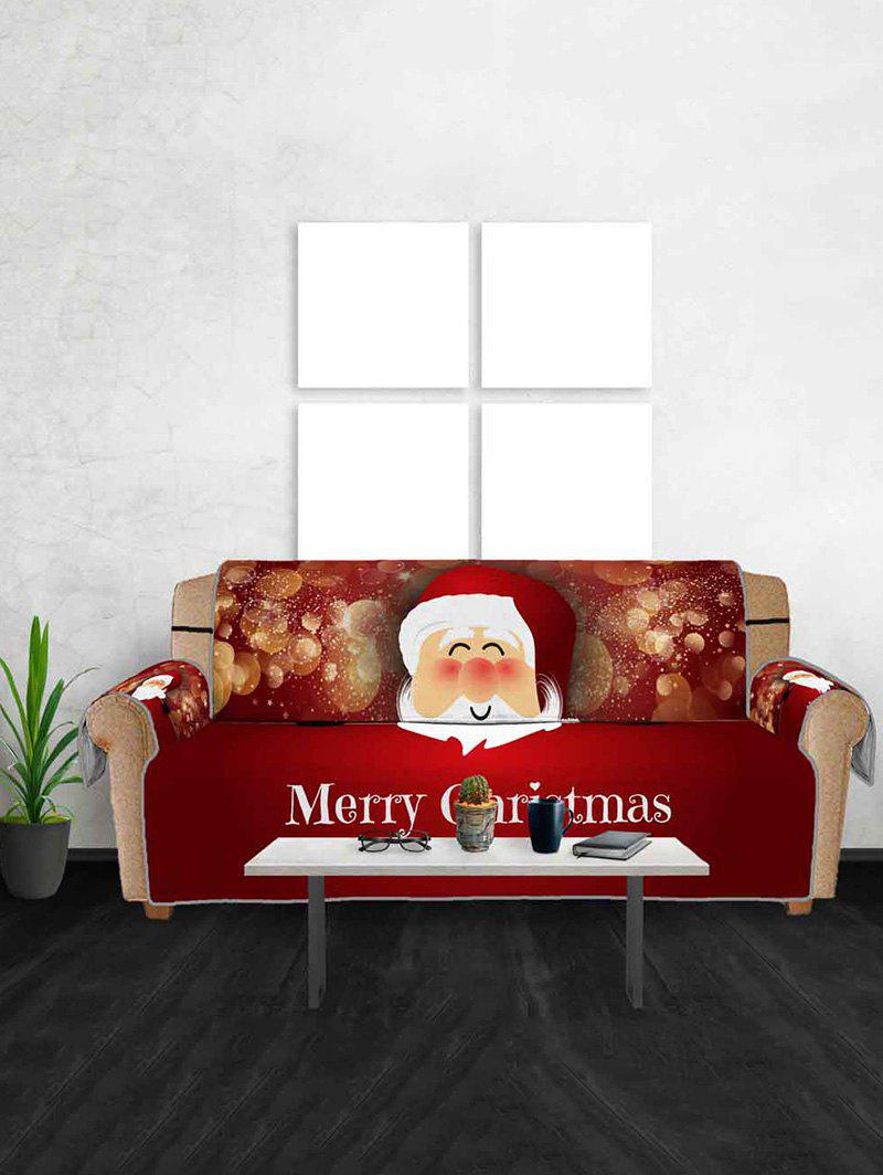New Christmas Santa Claus Pattern Sofa Cover