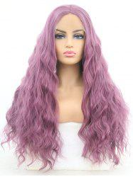 Middle Part Long Corn Hot Wavy Lolita Synthetic Lace Front Wig -